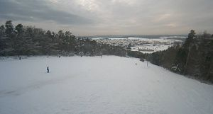 Screenshot von Webcam des Beerfeldener Skilifts