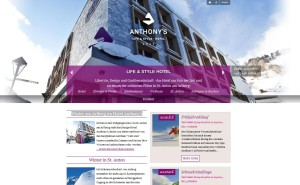 "Hotel ""Anthony´s"" in St.anton am Arlberg © Hotel Anthony´s"